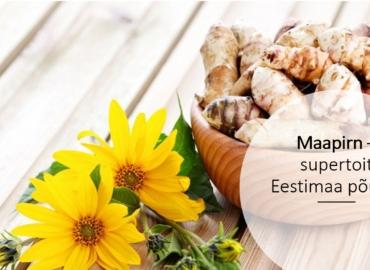 Case study: Sunroot Superfood maapirni toodetega Eesti turule